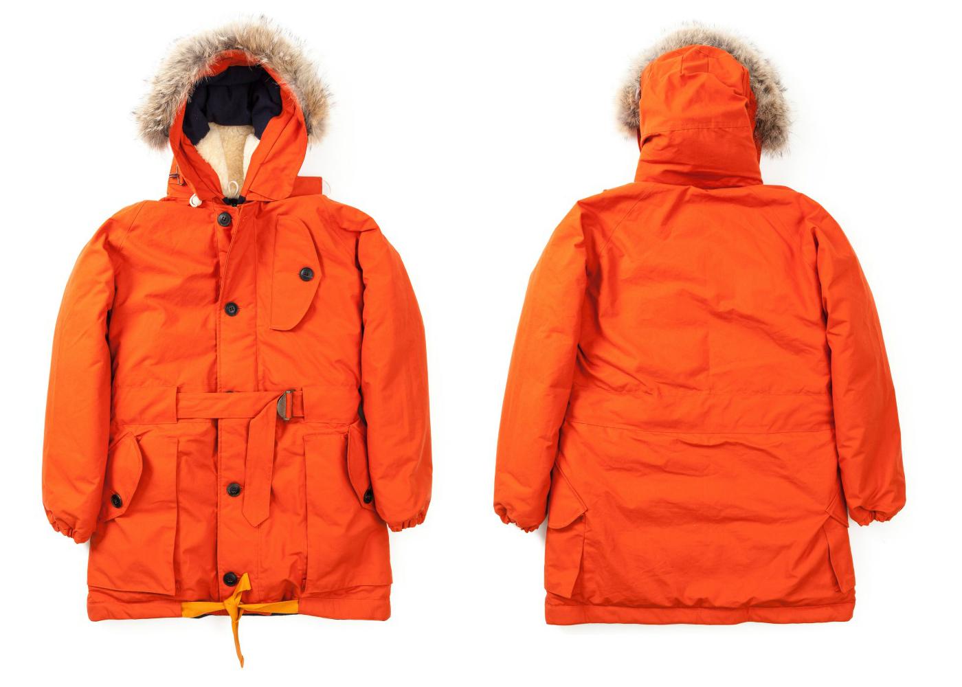 Зимний мужской пуховик Nigel Cabourn Antarctic Parka
