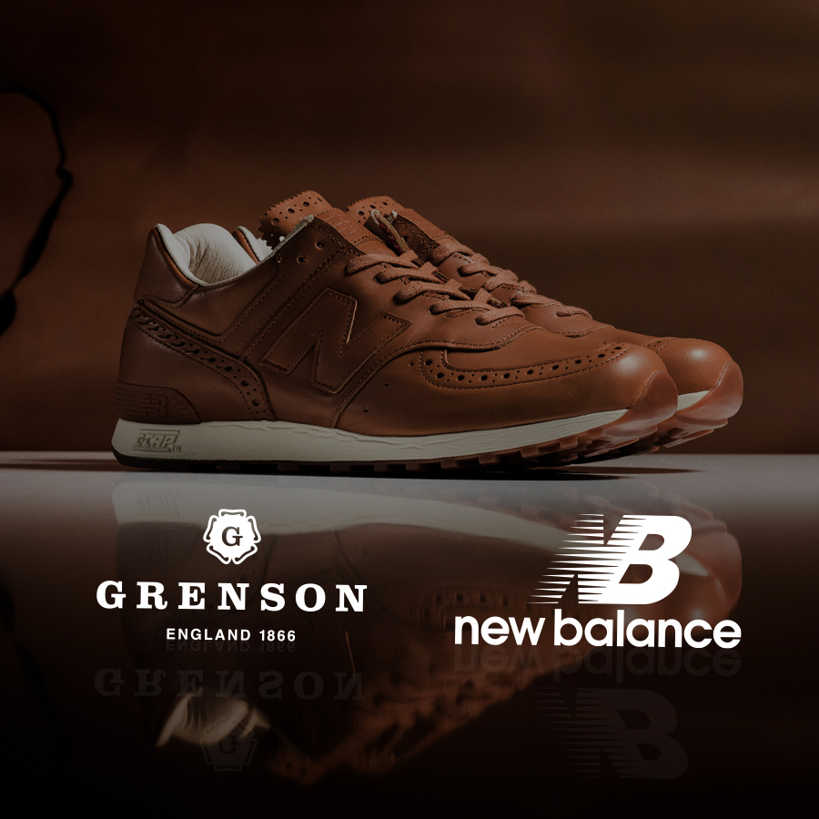 Кроссовки New Balance × Grenson