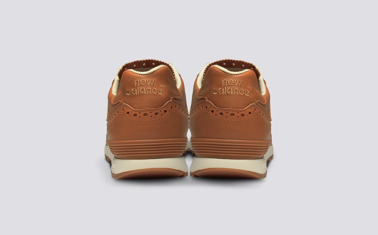 Кожаные кроссовки New Balance x Grenson сделаны в Англии