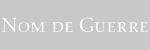 Марка одежды Nom De Guerre