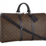 Louis Vuitton Monogram Macassar Keepall 55