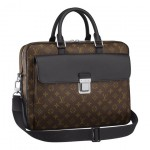 Louis Vuitton Monogram Macassar Soft Briefcase