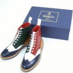 Многоцветные ботинки Tricker's