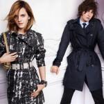 Эмма Уотсон и Джордж Крэйг в рекламной кампании Burberry 2010
