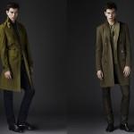 Двубортное пальто и плащ из предосенней коллекции 2010 Burberry Prorsum