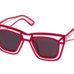 Розовые солнцезащитные очки Ksubi Skeleton