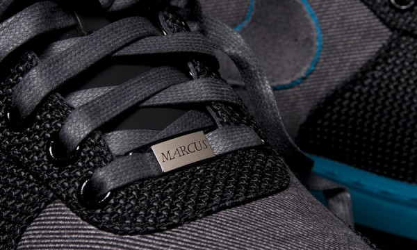 Дюбр на кроссовке Nike Air Force 1 x Marcus Troy
