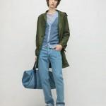 Парка, кардиган, джинсы, туфли, сумка, все A.P.C.