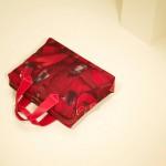 Красная кожаная мужская сумка Paul Smith