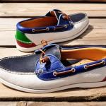 Многоцветные лодочные туфли Yuketen Surf Moc