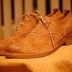 Коричневые ботинки H? Katsukawa from Tokyo из искуственно состаренной кожи
