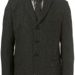 Твидовый пиджак на трех пуговицах, Harris Tweed x Topman