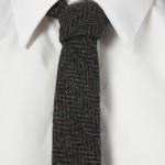 Узкий галстук из шерсти, Harris Tweed x Topman