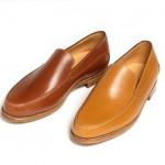 Туфли-лоаферы из коричневой кожи, John Lobb