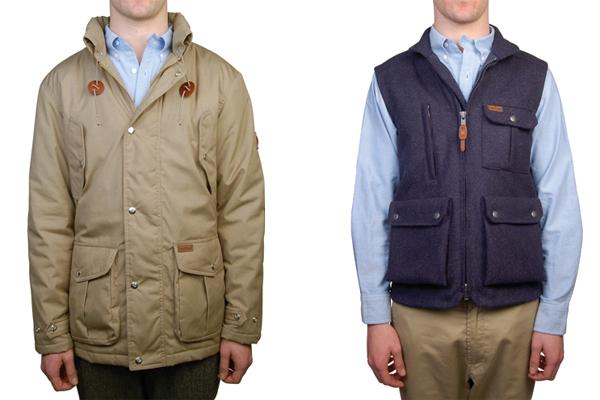 Мужская куртка Danville Trail, жилет Montez, все Penfield Trailwear