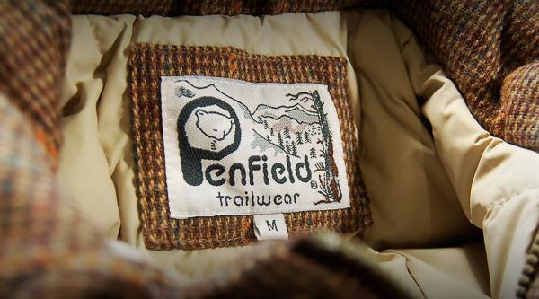 Мужская верхняя одежда американской марки Penfield Ttrailwear