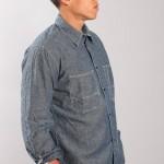 Мужская рубашка из чамбрея, Universal Works