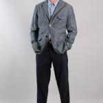 Мужской пиджак на трех пуговицах и брюки, Universal Works