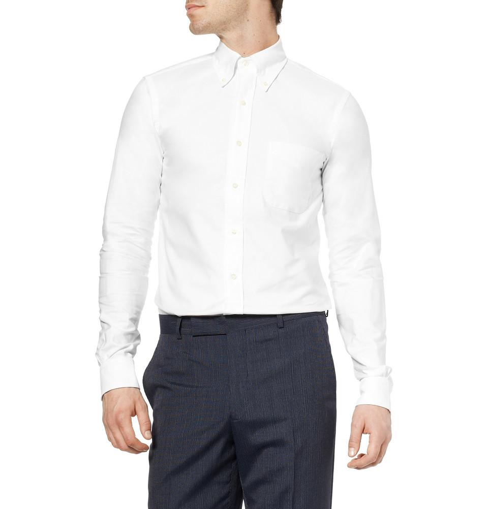 Мужская оксфордская рубашка button down, Brooks Brothers
