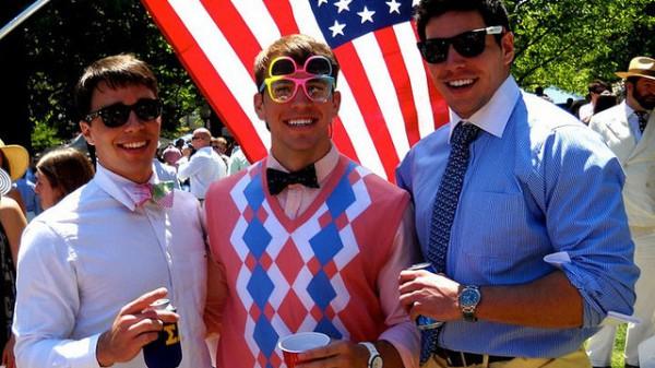Студенты американского колледжа