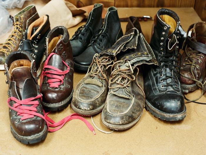 Поношенная обувь Yuketen