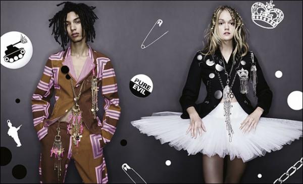 Коллекция Comme des Garçons для H&M