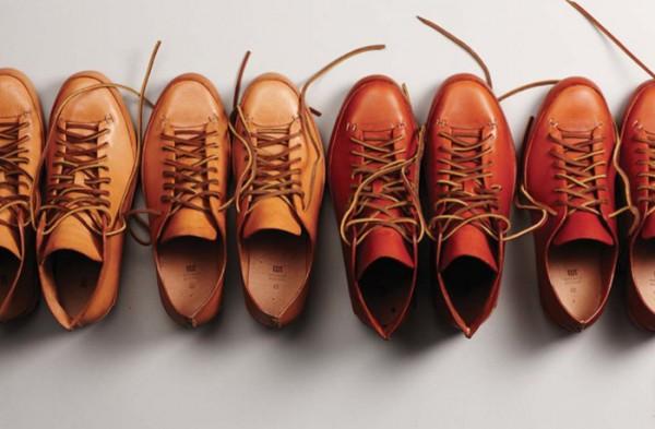 Сделанная вручную мужская обувь марки FEIT