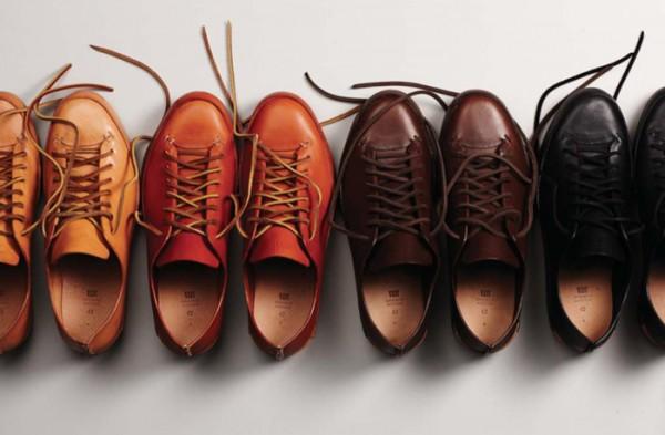 Коричневые и черные кожаные ботинки FEIT