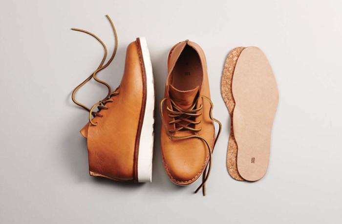 Мужские коричневые ботинки чукка с вынутой стелькой, FEIT