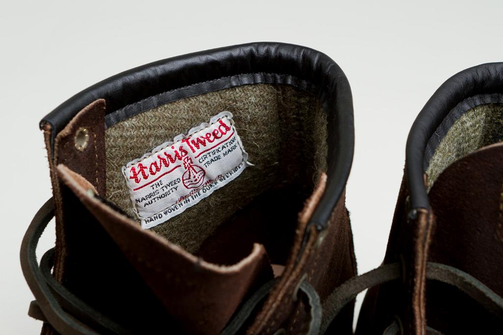 Внутренняя отделка из шерсти — утеплитель ботинок RED WING X NIGEL CABOURN