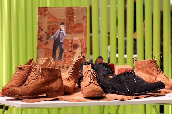 Мужские ботинки и туфли H? Katsukawa from Tokyo на выставке Pitti Uomo