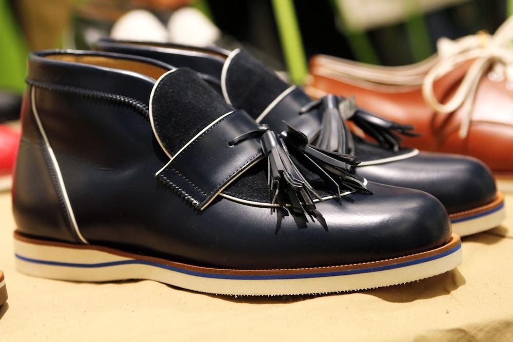 Мужские ботинки дезерты H? Katsukawa from Tokyo черного цвета