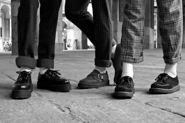 Мужские ботинки криперы от британского производителя  George Cox