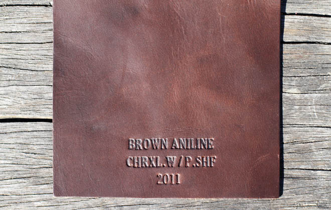 Кожа Horween Brown Aniline Chromexcel