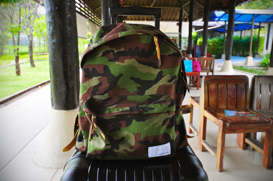 Рюкзак из Cordura с камуфляжным принтом,  nanamica