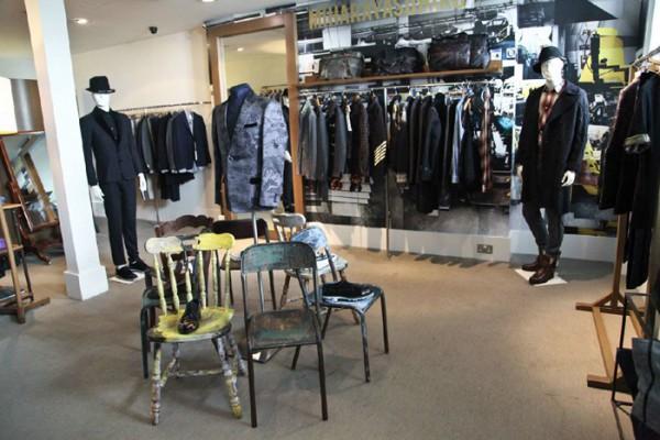 Корнер Miharayasuhiro в британском магазине мужской одежды Browns
