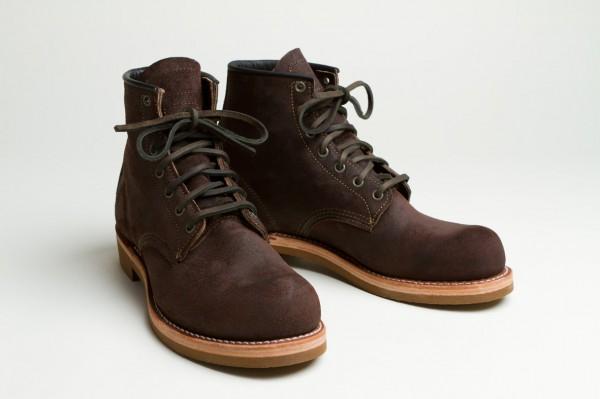 Мужские ботинки Red Wing Munson Boot шоколадно-коричневого цвета