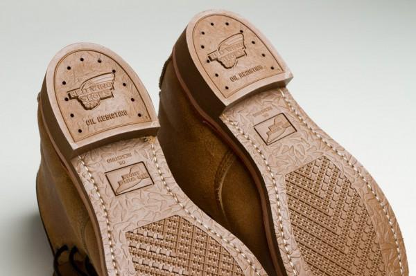 Подошва ботинок Red Wing Munson Boot резистентная к масляным жидкостям