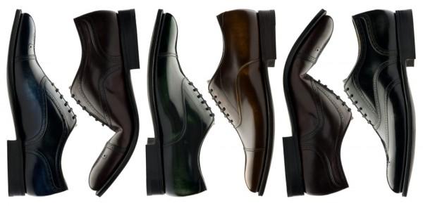 Мужские кожаные ботинки Church's на гибкой подошве