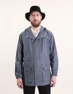 Куртка с капюшоном из шамбре Kagool, MHL by Margaret Howell