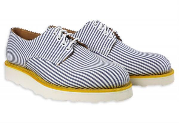 Летние туфли-дерби из сирсакера Mark McNairy для Gitman Vintage