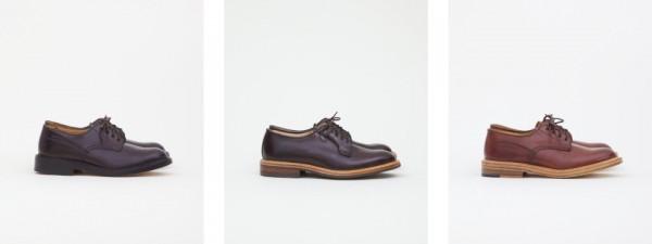 Мужские ботинки Tricker's из лошадиной кожи Cordovan