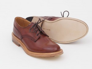 Ботинки Tricker's x Superdenim из кожи кордован цвета Teck