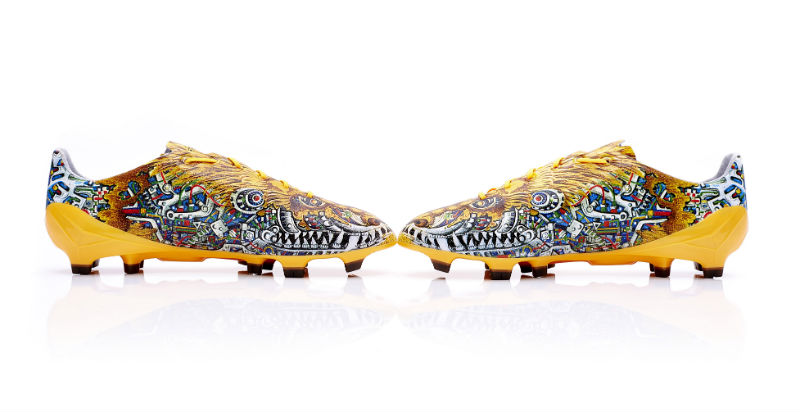 Футбольные бутсы adidas adizero f50 Yohji Yamamoto