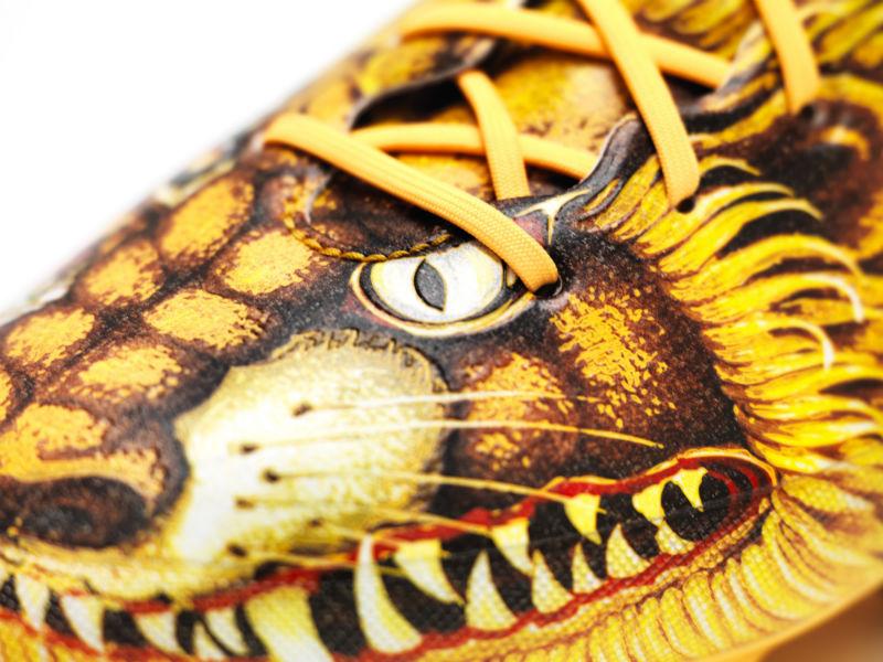 Кроссовки для футбола adidas adizero f50 от Йоджи Ямамото со львами