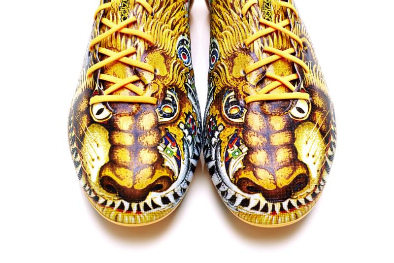 Бутсы adidas adizero f50 Yohji Yamamoto со львами