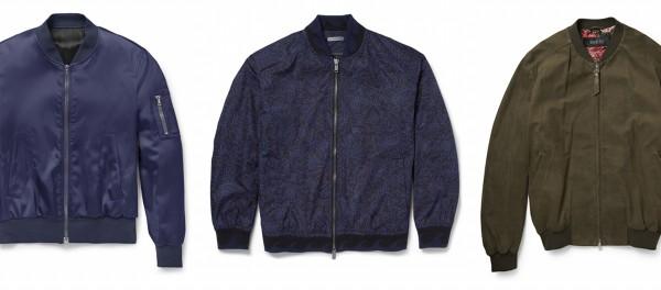 Мужские куртки бомбер