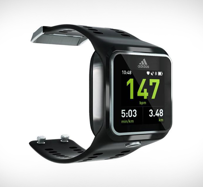 Спортивные часы для занятий бегом adidas miCoach Smart Run