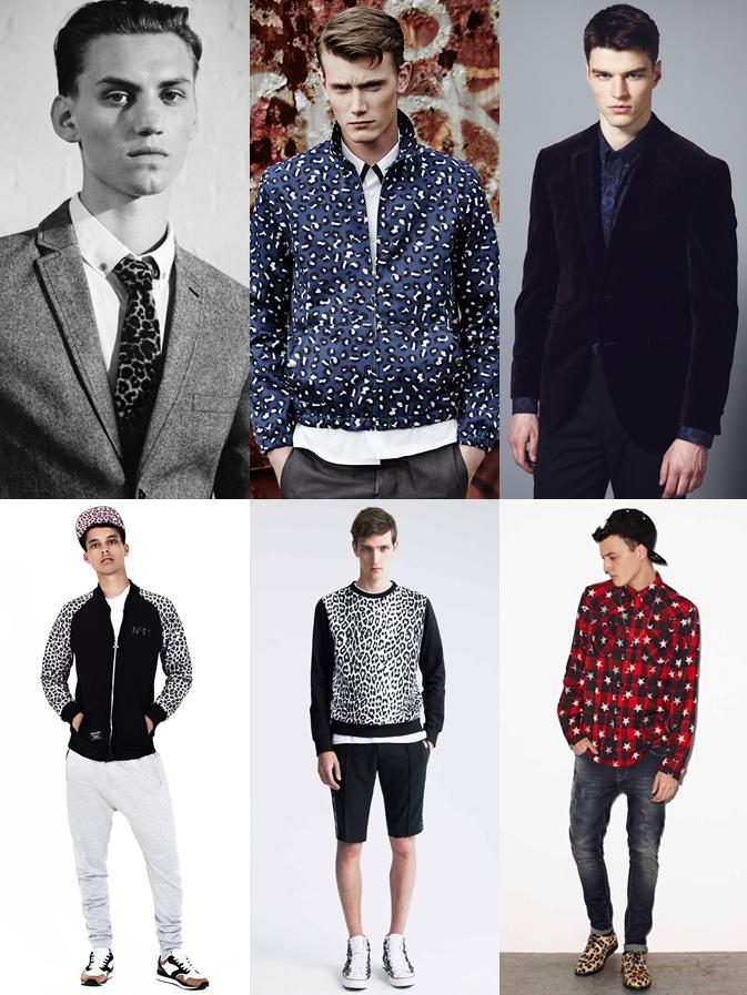 Леопардовый принт в элементах мужского гардероба