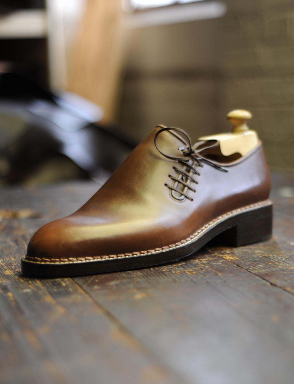 Ботинки Wholecut из Horween Chromexcel, Stefano Bemer